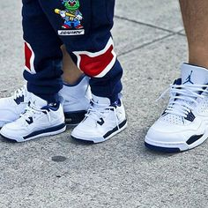 61 Best Father And Son Matching Js Images Daddy Son Father Son