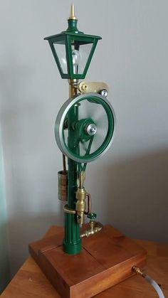 Motor Stirling, Stirling Engine, Toy Steam Engine, Model Steam Engine, Steampunk Airship, Steam Turbine, New Technology Gadgets, Wind Sculptures, Diy Pallet Furniture