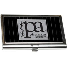 """PA – Physician Assistant"" Business Card Holder from http://shop.advanceweb.com."