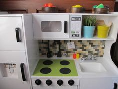 play kitchen makeover - Google Search