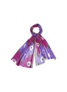 The fiore from Marimekko Scandinavia Design, Scarf Hat, Marimekko, Fashion Bags, Scarves, Jewelry Accessories, Colours, Tie, Christmas Ornaments