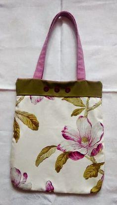 torba, oliwka, magnolia, handmade