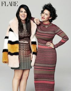 """Broad City's Abbi and Ilana: """"The Best F-cking Interview"""" - Deputy editor Maureen Halushak says yaaasss queen to a most sumptuous dinner with Broad City stars Ilana Glazer & Abbi Jacobson. Tuck into the story of these perfectly paired creators, just in time for season three - FLARE"""