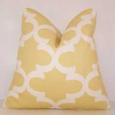 Hey, I found this really awesome Etsy listing at https://www.etsy.com/listing/205152722/yellow-pillow-cover-saffron-yellow-euro
