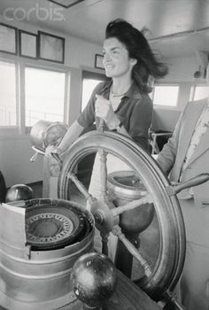 Jackie Kennedy Taking Control of the Staten Island Ferry in 1976 ``