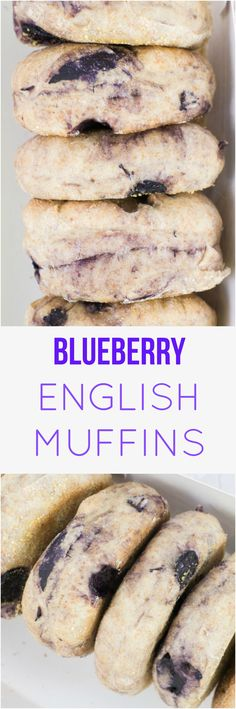 You're going to love this delicious Blueberry English Muffins recipe! These are even better than the store bought muffins because they're homemade! If you've never made homemade English Muffins before don't worry - they're easy to make!
