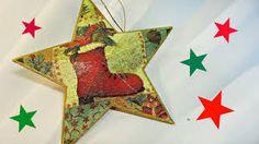 Resultado de imagen para estrellas navideñas recicladas