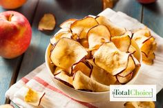 Total Choice Fuji Chips : Trade in your fried snacks and trade up to these baked treats! Eat this recipe on the Total Choice 1200-calorie plan.