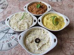 Gasztronómiai ténykedéseim: Pástétomok Vaj, Hummus, Curry, Drink, Cooking, Ethnic Recipes, Food, Kitchen, Curries