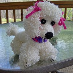 We Like Knitting: Poppet the Poodle - Free Pattern