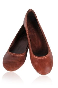 1d63c12db7c Leather flat shoes   leather ballet flats   brown leather shoes. Sizes  US  4-13