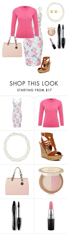 """""""#73 ((Happy Easter))"""" by blessedbehisnamex3 ❤ liked on Polyvore featuring M&Co, Chico's, G by Guess, MICHAEL Michael Kors, Too Faced Cosmetics, Lancôme and MAC Cosmetics"""