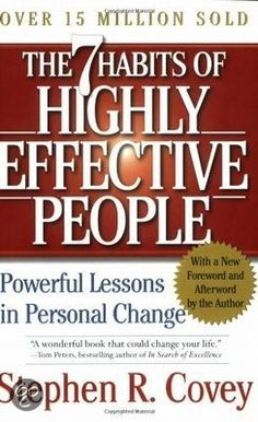 The 7 Habits of Highly Effective People: mag natuurlijk niet ontbreken