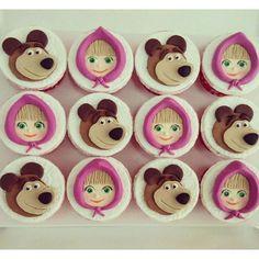 Resultado de imagen para cupcakes mawa y el oso