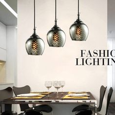 Modern Glass Dining Room Pendent Lamp Fashion Living Room Pendent Lamp Bar Pendent Lamp