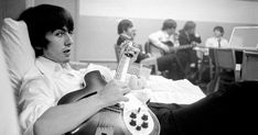 Olivia Harrison, Ringo Starr and others close to George Harrison remember the late Beatle following the reissue of his 1980 memoir, 'I Me Mine.'