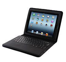 IPEVO Typi Folio Case   Wireless Keyboard for the new iPad 3 and iPad 2 - Black