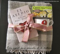 www.manualidadesytendencias.com Idea regalo: kit del amante de la lectura / Gift idea: Book lover's kit