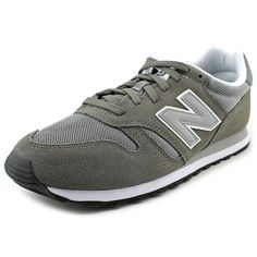 4c65146432f51 New Balance ML373 Mens Sneakers ($27) ❤ liked on Polyvore featuring shoes,  sneakers, grey, rubber sole shoes, new balance shoes, new balance footwear,  ...