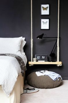 I want to get shelving like this for by my bed