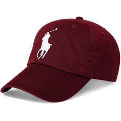 Polo Ralph Lauren Men s Big Pony Cap ( 50) ❤ liked on Polyvore featuring  men s · CasquetteChaussureChapeaux FraisCasquettes Pour HommesChapeaux De  ... ac94b8dec35