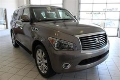 2014 Infiniti QX80 Base 4x4 4dr SUV SUV 4 Doors Silver for sale in Cleveland, OH Source: http://www.usedcarsgroup.com/used-infiniti-for-sale-in-cleveland-oh