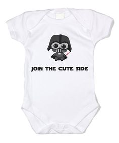 Star Wars Join the Cute Side Unisex Baby Bodysuit
