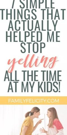 Want to stop feeling like an angry mom and yelling at your kids all the time? These simple tips really helped me find my anger triggers and stop yelling at my kids! Peaceful Parenting, Gentle Parenting, Parenting Teens, Parenting Advice, Dad Advice, New Parent Advice, Toddler Chores, Toddler Behavior, Mother Daughter Dates