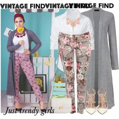 gray long cardigan outfit, Long kimono cardigan hijab style http://www.justtrendygirls.com/long-kimono-cardigan-hijab-style/