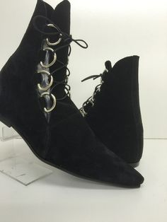 D-Ring Old School Pikes – The Gothic Shoe Company Handmade Winklepickers