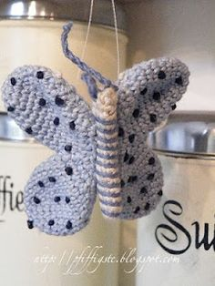 1500 Free Amigurumi Patterns: Butterfly