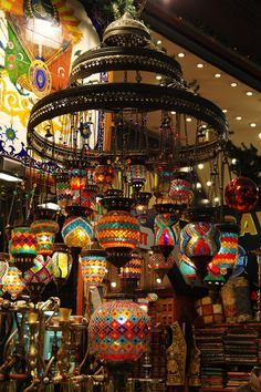 Spice Market, Istanbul - I am getting one of these lanterns when T and I are in Turkey:)