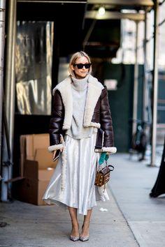 Толпа уличного стиля, испеченная в Sequins на 6-м дне Неделе моды в Нью-Йорке - Fashionista #StreetFashionStyle