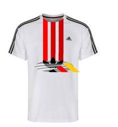 Adidas, 3, stripes, shirt, new design.