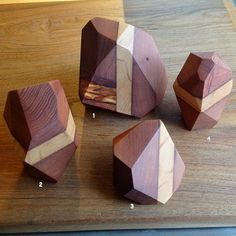 faceted wood - Google Search