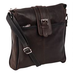 Channel adventurers of old with this gorgeously textured vintage messenger bag.