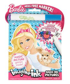 Barbie Imagine Ink Mess-Free Game Book