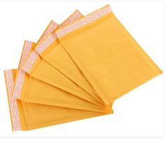 Buy Bubble Envelopes in bulk, even if you are sending only a few items it is best to stock bubble envelopes because they are useful.