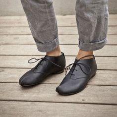 Sale-20% OFF Black oxford shoes, women black shoes, comfortable designer shoes, Flat shoes.