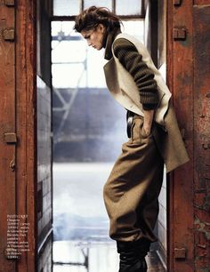 Kendra Spears | Lachlan Bailey | Vogue Spain October 2012 | Personal Cualificado