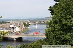 Looking out at the River Ness - Inverness, Scotland.