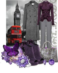 """""""Purple Haze"""" by anna-campos ❤ liked on Polyvore"""