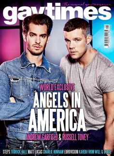 World Exclusive: Andrew Garfield, Russell Tovey and cast on the evergreen relevance of Angels in America  | May 2017