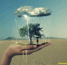 Regen der Segnungen... von Liebe, Frieden, Licht und guten Energien... Rain of blessings ... of love, peace, light and good energies.... ~ gesehen bei: Divergent https://www.facebook.com/DivergentOficiall/