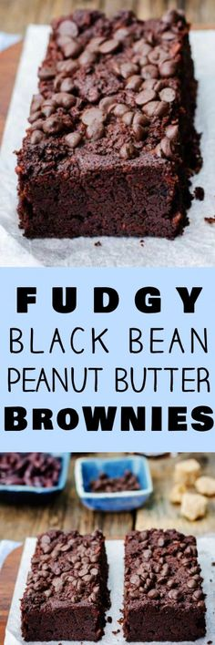 This is the best Fudgy Black Bean Brownies recipe there is! I've won a baking contest with these brownies! These easy to make brownies are made with canned black beans and peanut butter making them extra fudgy and more healthy than the usual brownie. I love how simple they are to make and how much kids and adults both love them!