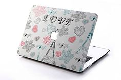 "HQF® 13-inch Snap-on Hard Case- Silicone Rubber Shell Case Cover Fit for MacBook Air 13.3"" Model A1369/A1466(Love Paris) HQF http://www.amazon.com/dp/B00RLM6W8E/ref=cm_sw_r_pi_dp_TAPTub1B046PN"