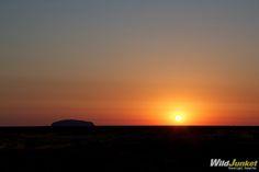 Photoblog: Sunrise in Uluru, #Australia