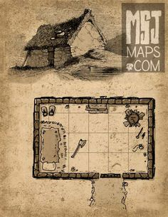 map for dungeons and dragons
