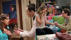 From spur-of-the-moment proposals, to sneak-attack I love you's, 'The Big Bang Theory' sure knows how to tug-on-our heartstrings.