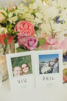 Sorprende a tus #invitados con una imagen suya como #marcasitio en tu boda #decoracióndeboda #banquetedeboda